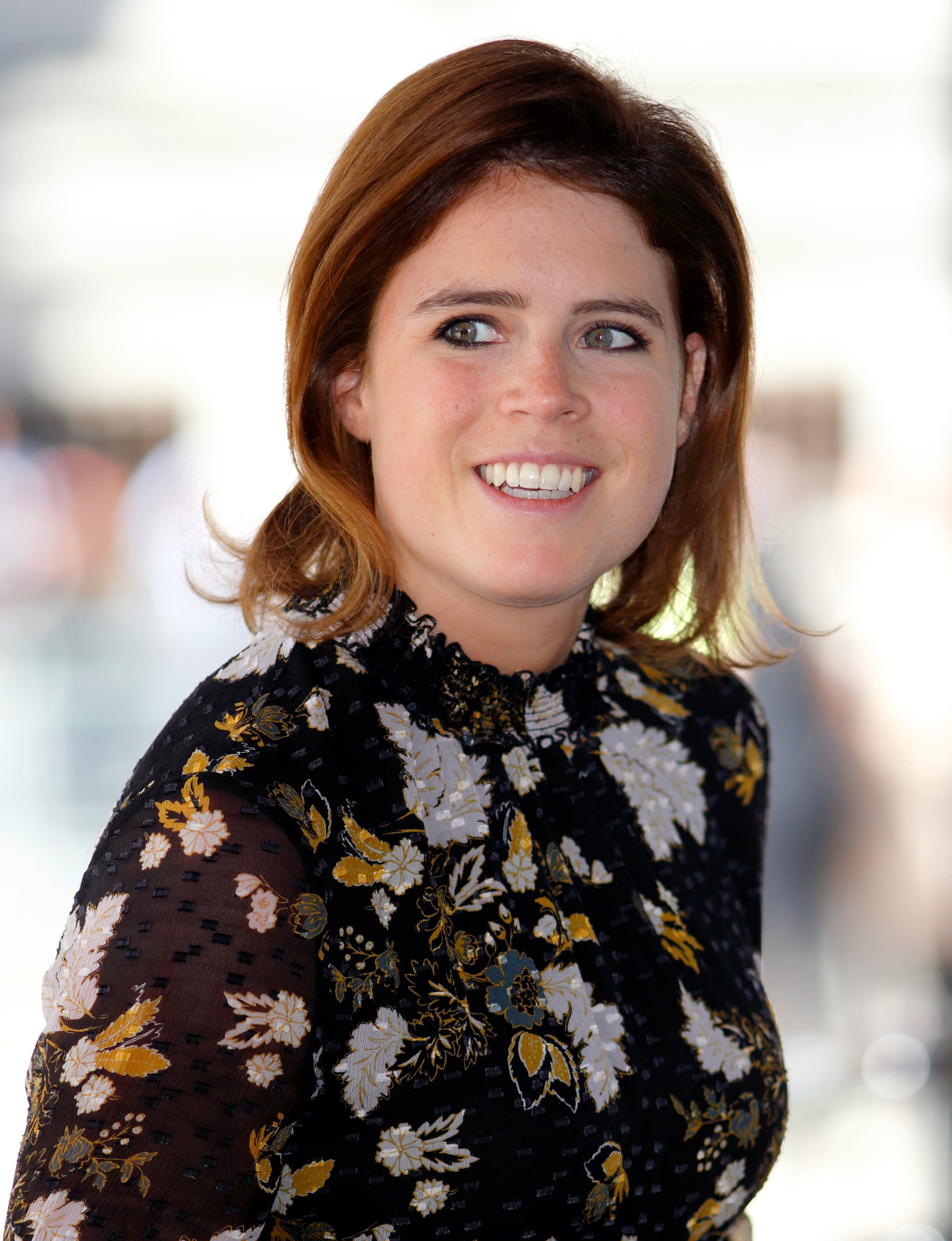 LONDON, UNITED KINGDOM - APRIL 18: (EMBARGOED FOR PUBLICATION IN UK NEWSPAPERS UNTIL 24 HOURS AFTER CREATE DATE AND TIME) Princess Eugenie attends a reception with delegates from the Commonwealth Youth Forum during the Commonwealth Heads of Government Meeting (CHOGM) at the Queen Elizabeth II Conference Centre on April 18, 2018 in London, England. (Photo by Max Mumby/Indigo/Getty Images)