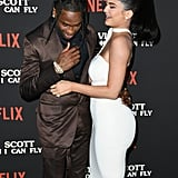 Kylie Jenner and Travis Scott at Travis Scott: Look Mom I Can Fly Premiere