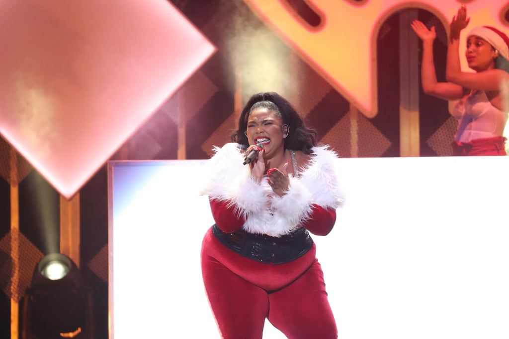 Lizzo at iHeartRadio's Jingle Ball in NYC