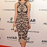 Rose Byrne slipped into a slinky Alexander McQueen.