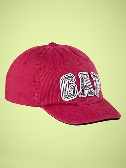 Gap Plaid Logo Baseball Hat ($13)