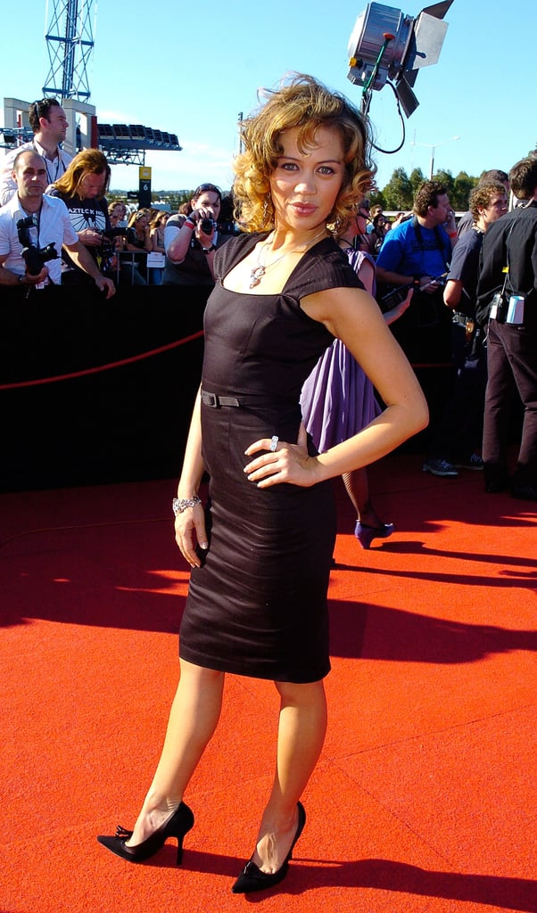 2005 Jade Macrae Celebrity Pictures At The Aria Awards