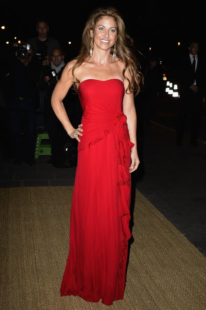 A red-hot Dylan Lauren dined in Paris with Ralph Lauren.