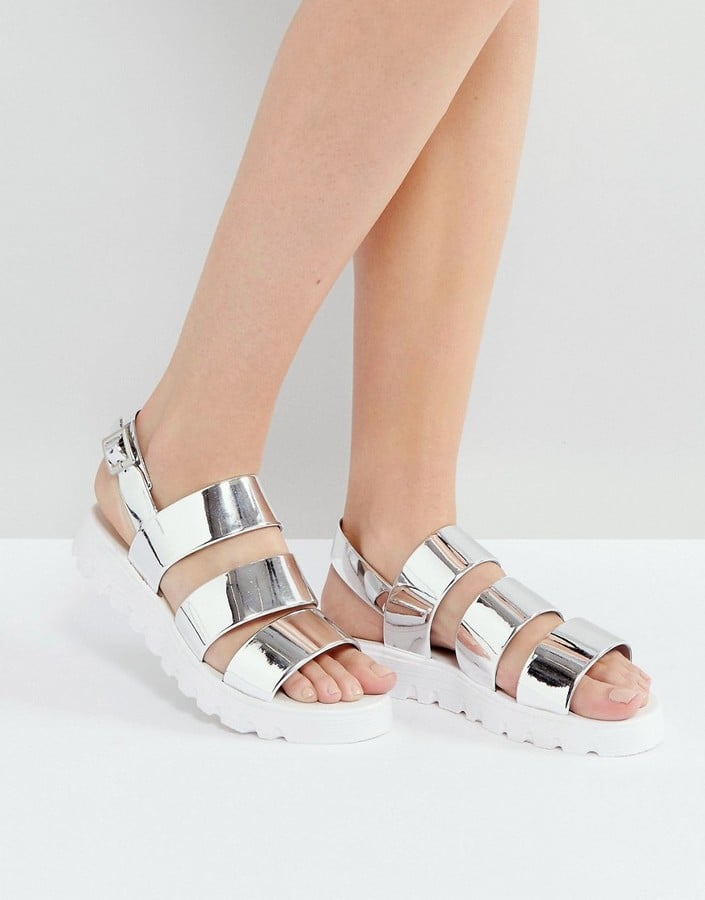 e3984337f850 ASOS FROU Jelly Flat Sandals