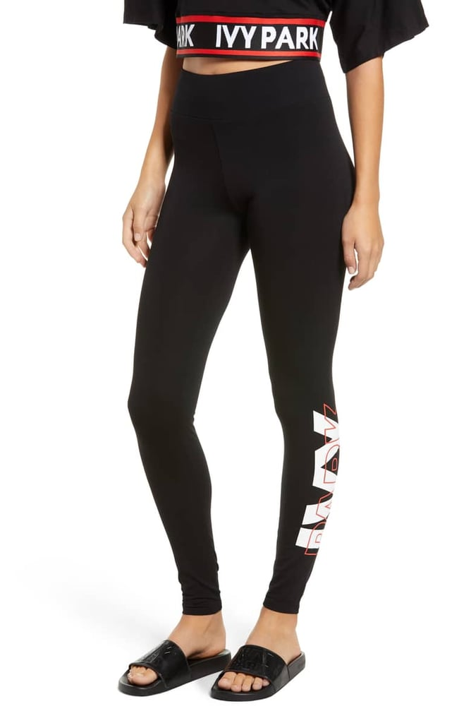 Ivy Park Layer Logo Graphic Leggings