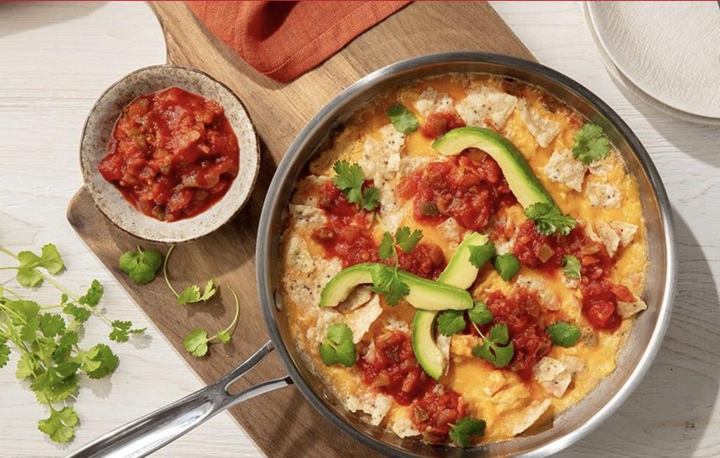 Egg Tortilla Scramble