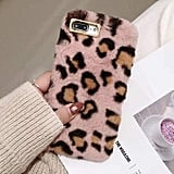 Plush Leopard iPhone Case