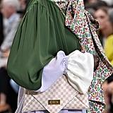 A Tory Burch Bag on the Runway at New York Fashion Week