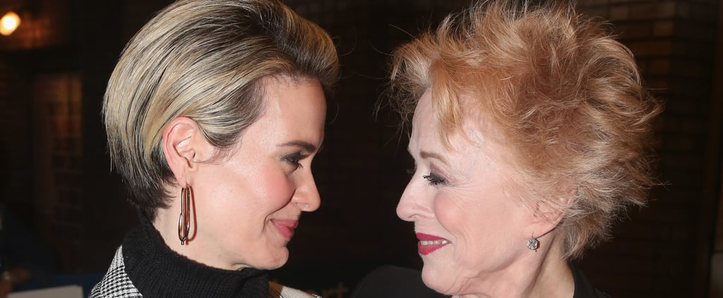 Sarah Paulson Supports Girlfriend Holland Taylor at the Premiere of Her Broadway Show