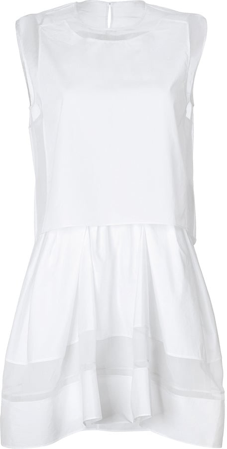 3.1 Phillip Lim White Stretch Dress