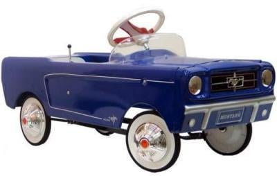 Blue 1965 Mustang ($270)