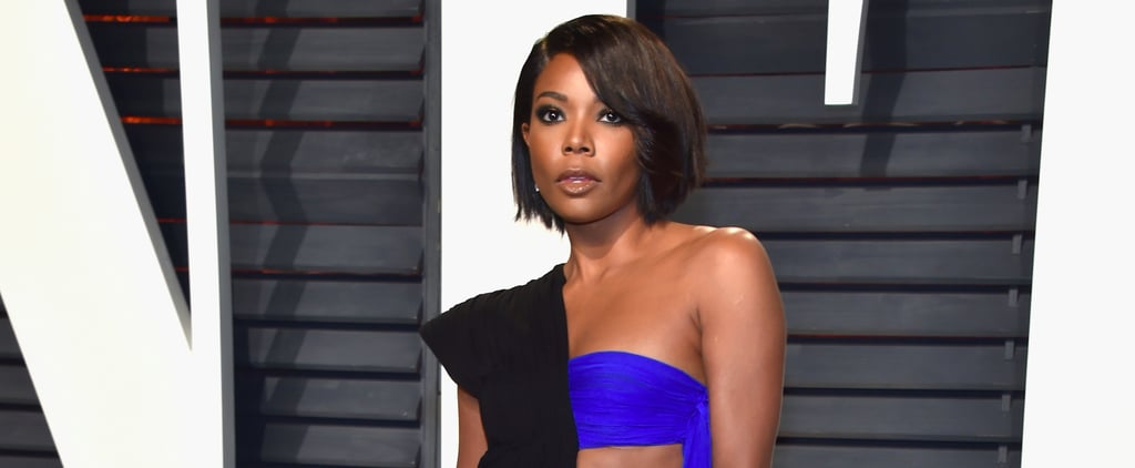 You'd Have to Give Up Underwear to Rock Gabrielle Union's Half-Dress