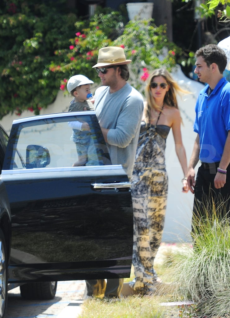 Gisele Bundchen Pictures With Tom Brady and Benjamin Brady