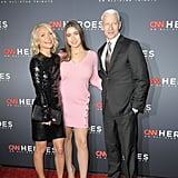 Kelly Ripa and Daughter Lola at CNN Heroes Event in NYC 2017