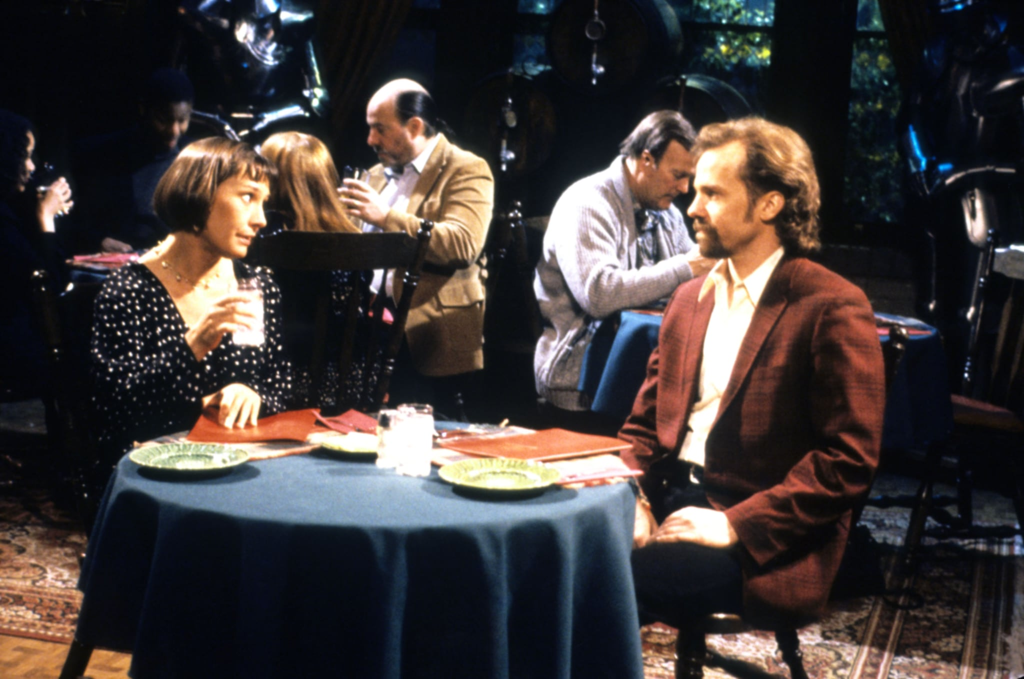 ROSEANNE, Laurie Metcalf, Michael O'Keefe, 1988-97, Carsey-Werner/courtesy Everett Collection