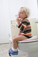 Wet Diaper Alarm Used for Potty Training