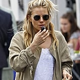 Sienna Miller Takes Daughter Marlowe Out in London