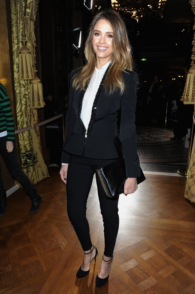 Jessica Alba at Stella McCartney.
