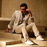 Ed Westwick Promotes Sneakers for K-Swiss