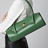 Manu Atelier Cylinder Leather Shoulder Bag