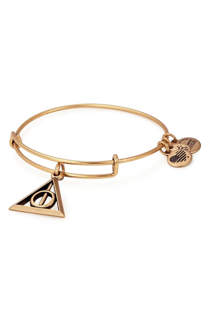 Alex and Ani Harry Potter Deathly Hallows Adjustable Wire Bangle