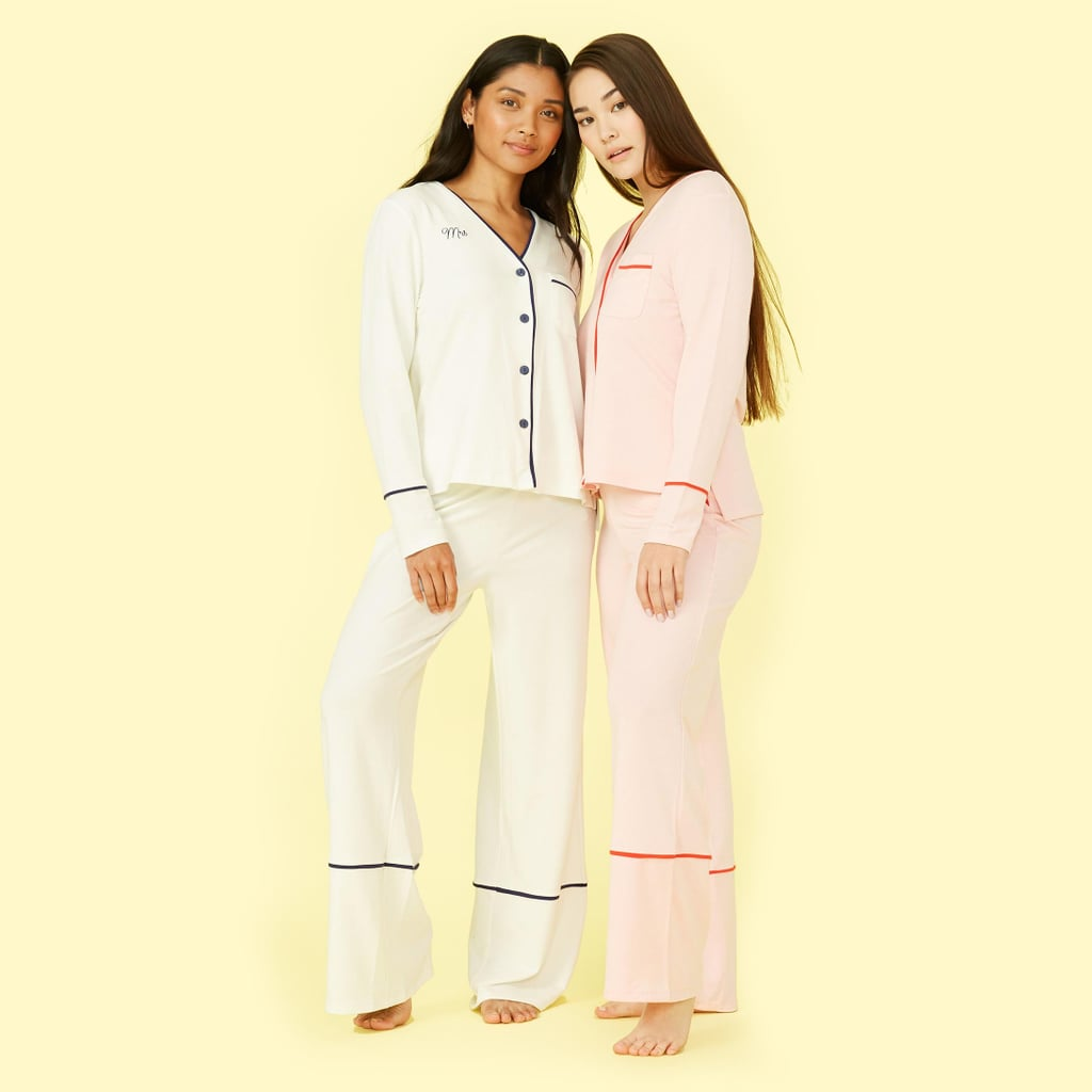 Your Bridesmaids Will Love These Monogrammed PJs So Much, They'll Actually Want to Wear Them Again