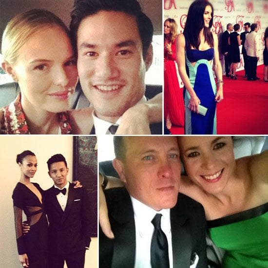 First Look at the 2012 CFDA Awards: Celebrities, Models and Designers Tweet Their Pictures of their Party Prep