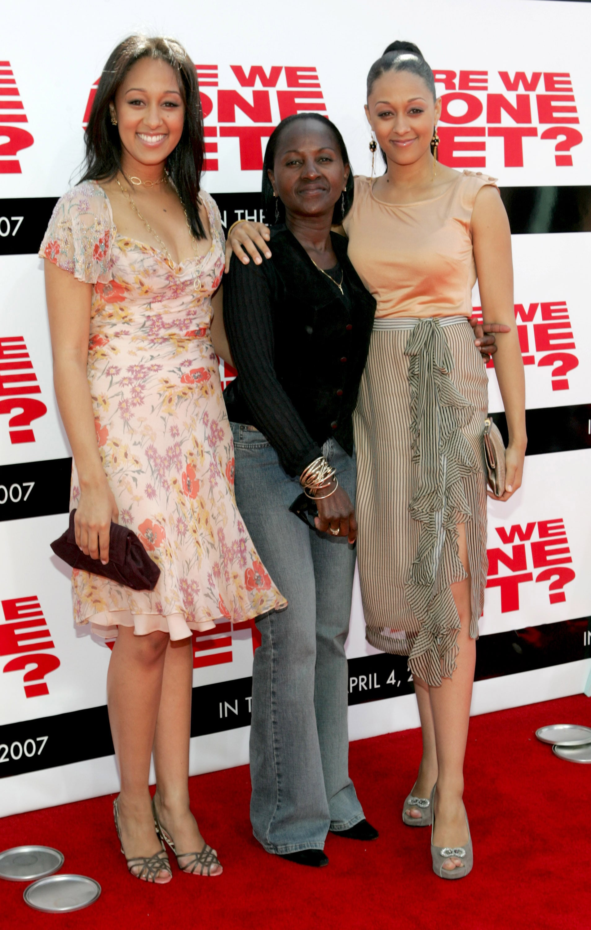 Tamera Mowry, Darlene Mowry and Tia Mowry during The Premiere of Revolution Studios' and Columbia Pictures'