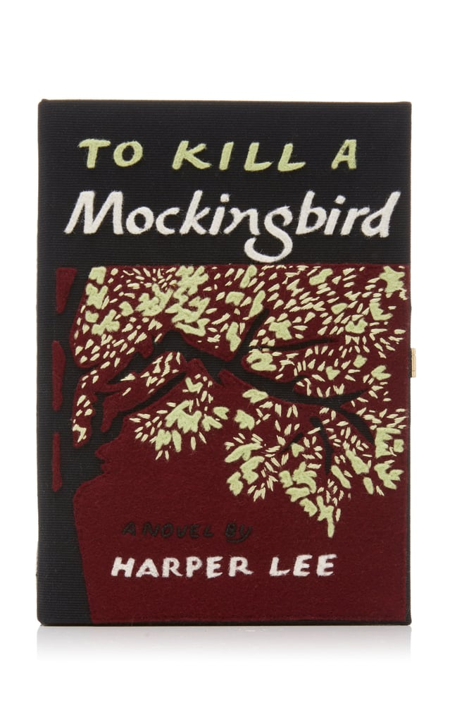 Olympia Le-Tan To Kill A Mockingbird Felt Clutch