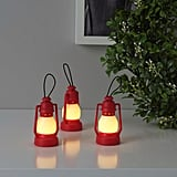 Vinterfest Red Lantern LED Decorative Lights
