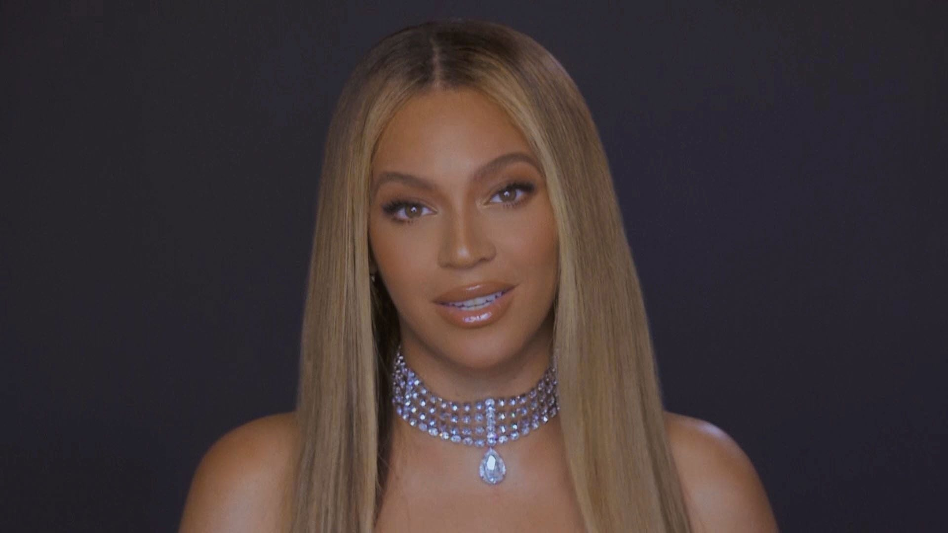 VARIOUS CITIES - JUNE 28: In this screengrab, Beyoncé is seen during the 2020 BET Awards. The 20th annual BET Awards, which aired June 28, 2020, was held virtually due to restrictions to slow the spread of COVID-19. (Photo by BET Awards 2020/Getty Images via Getty Images)