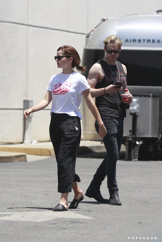 Emma Watson and Chord Overstreet PDA Pictures June 2018 | POPSUGAR ...