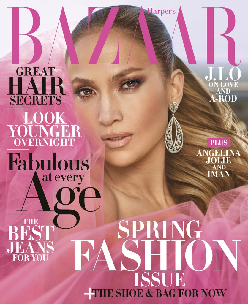 In the wake of Time's Up and the #MeToo movement, more and more celebrities are breaking their silence on the inappropriate behavior and injustices they've experienced in the workplace. The latest star to speak out is Jennifer Lopez, who graces the cover of Harper's Bazaar's April issue. Not only does the singer look absolutely stunning in the magazine's spread, but in the accompanying interview, Jennifer opens up about everything from her own personal experience with sexual harassment in Hollywood to her relationship with Alex Rodriguez. Read on to see what she had to say.       Related:                                                                                                           The Cutest Pictures of Jennifer Lopez and Her Twins Max and Emme