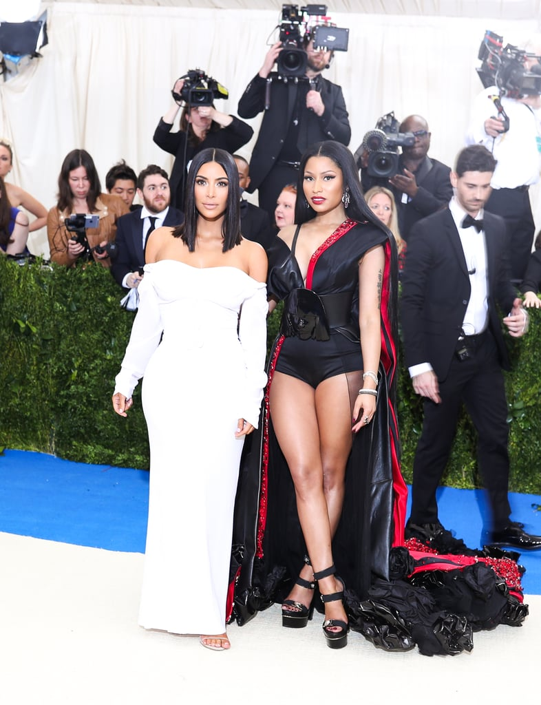 Pictured: Kim Kardashian and Nicki Minaj