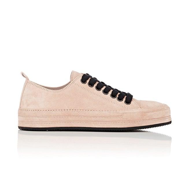 Ann Demeulemeester Suede Cap-Toe Sneakers ($765)