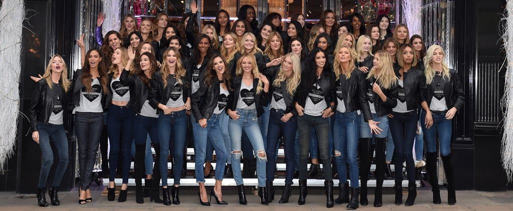 Victoria's Secret Invades London, and Angel Chaos Ensues!