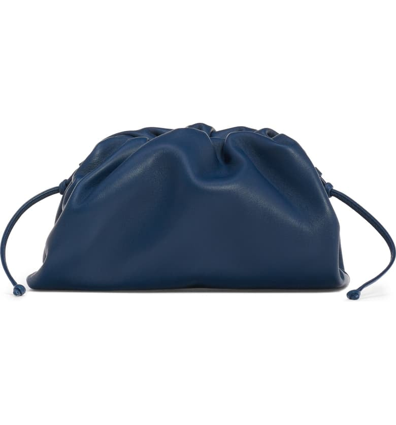 Bottega Veneta The Mini Pouch Calfskin Leather Clutch