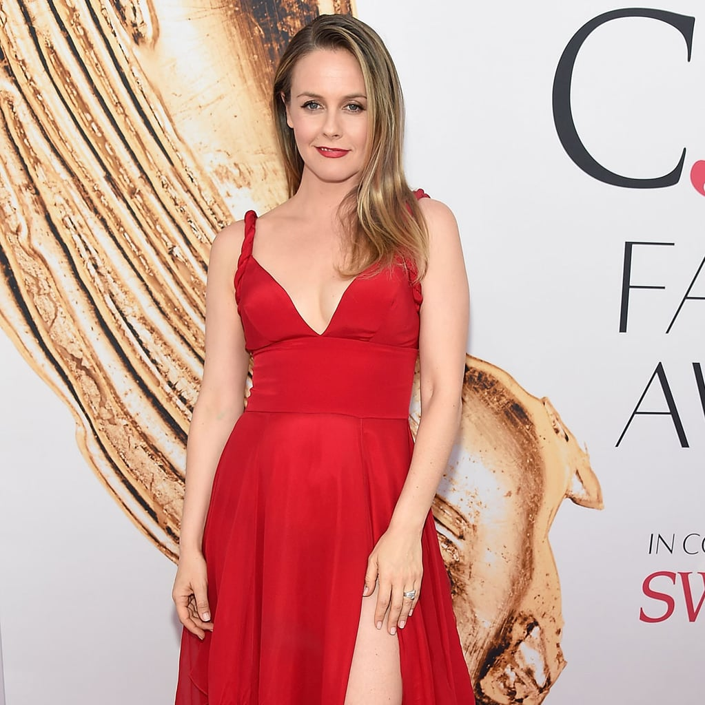 Alicia Silverstones Red Dress At CFDA Awards 2016