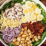 Egg-Topped Spinach Salad