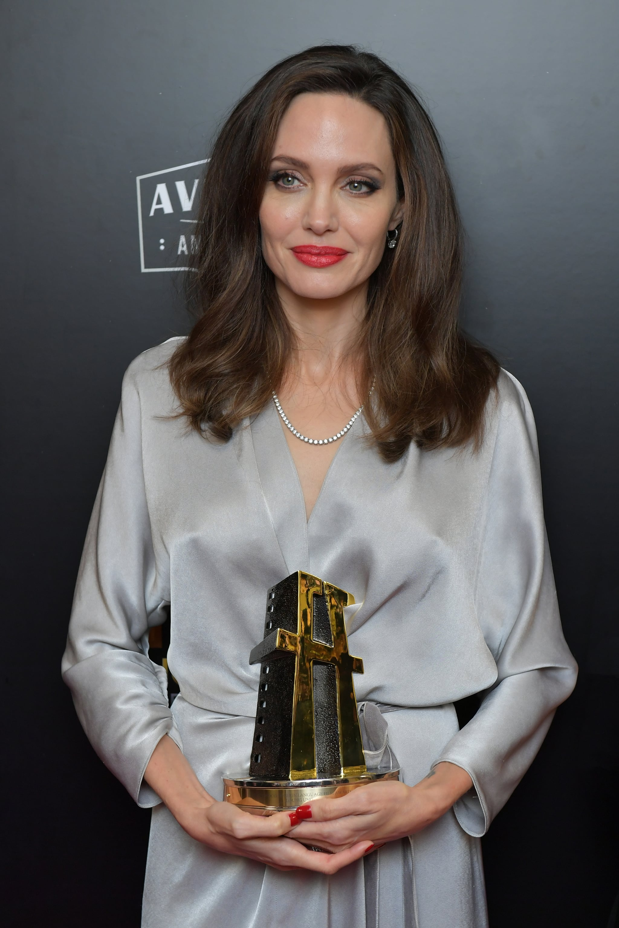 Celebrity Entertainment Angelina Jolie Drops Jaws While