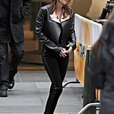 Kristen Stewart stepped out in NYC to promote Breaking DawnPart 2.