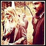 In October 2013, Blake Lively and Ryan Reynolds attended Amber Tamblyn's wedding.  Source: Instagram user Questlove