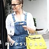 Jennifer Lopez Overalls