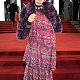 Dame Zandra Rhodes at the British Fashion Awards 2019 in London