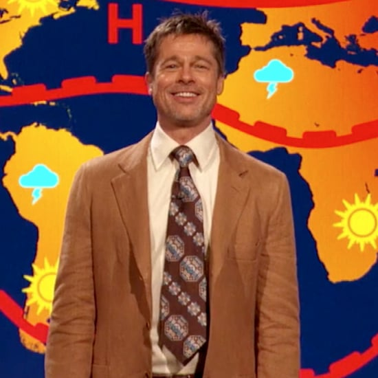 Brad Pitt Returns as Weatherman on Jim Jefferies Show 2017