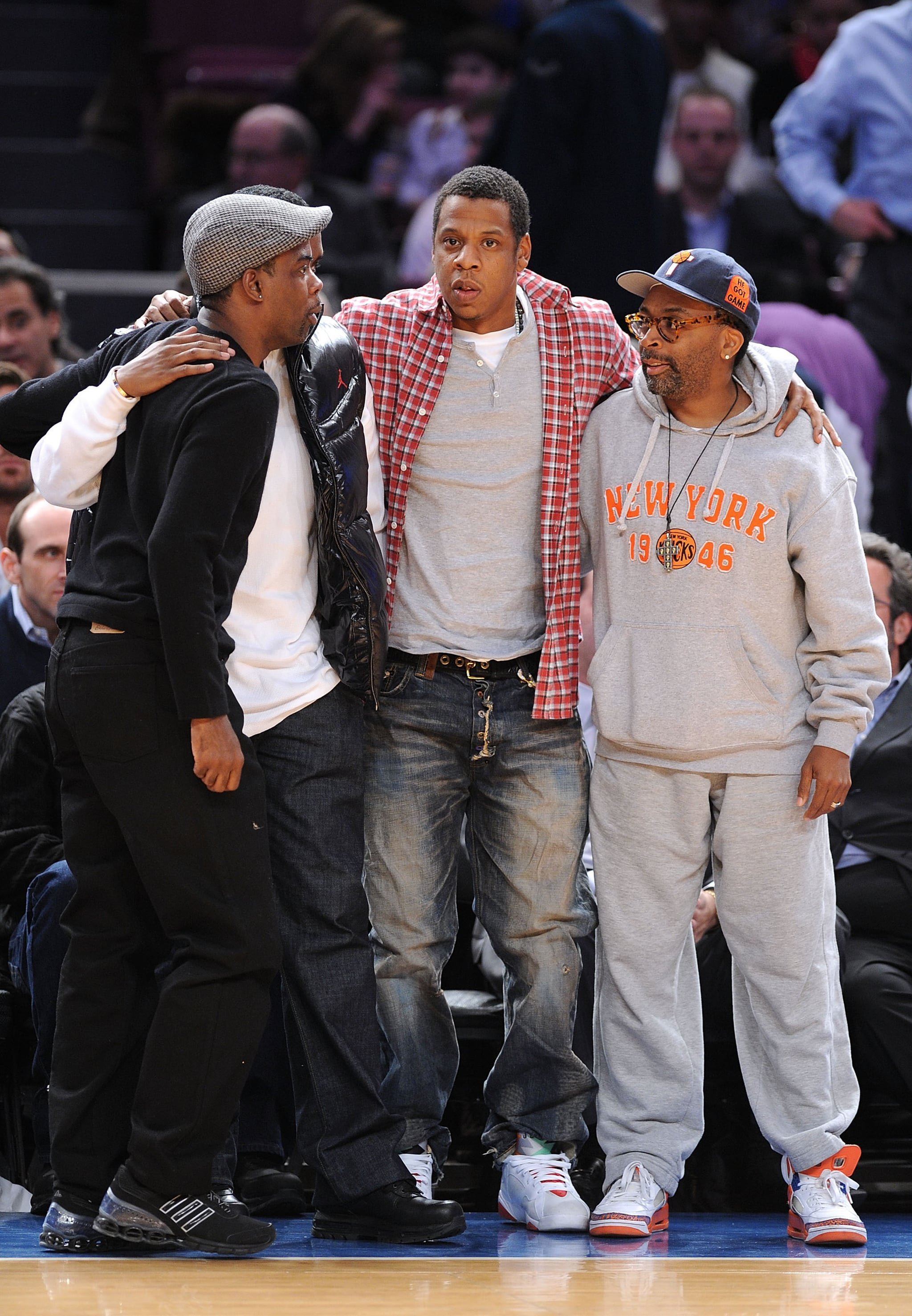 Photos Of Jay Z And Diddy At Knicks Game Popsugar Celebrity
