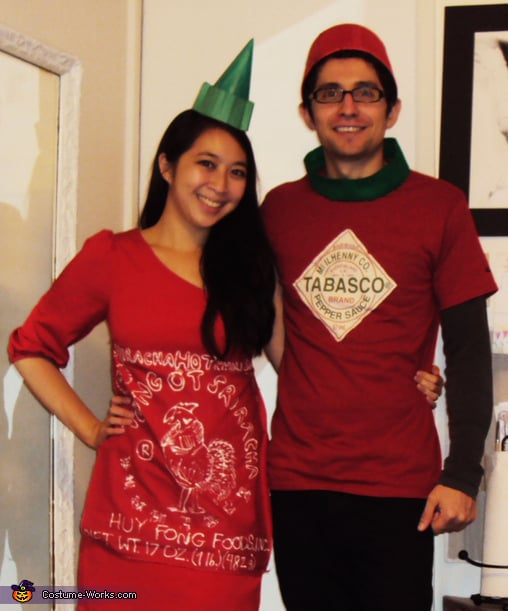 Sriracha and Tabasco