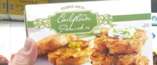 Trader Joe's Cauliflower Pancakes