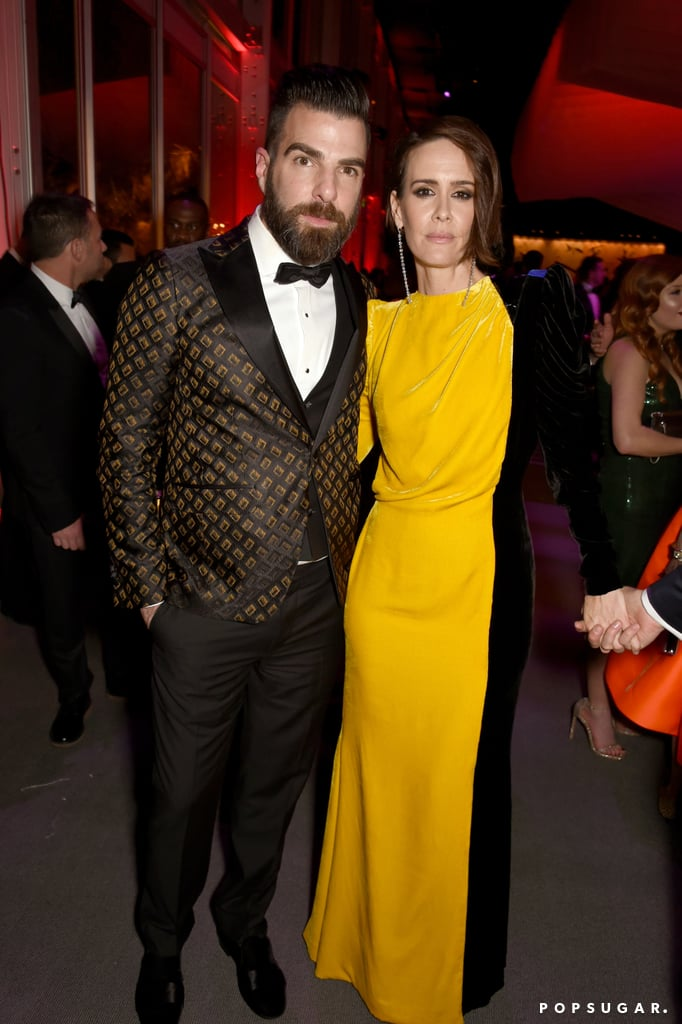 Pictured: Zachary Quinto and Sarah Paulson