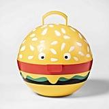 Hamburger Grill Caddy Yellow